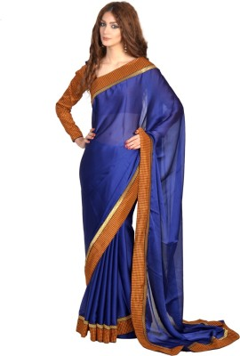Velli Self Design Fashion Satin Sari