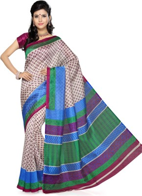 Saree Swarg Printed Daily Wear Art Silk Sari