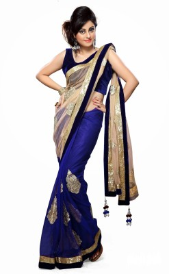 Leranath Enterprise Printed Bollywood Georgette Sari
