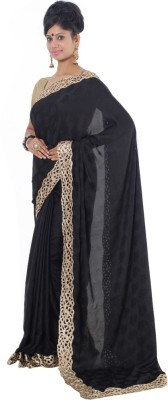 Vikrant Collections Embellished Bollywood Georgette Sari