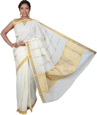 JISB Self Design Coimbatore Cotton Sari