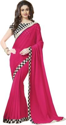 Galaxy Women Self Design Daily Wear Georgette Sari