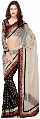 Texclusive Self Design Bollywood Net Sari