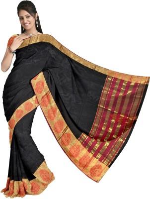 KapoorSarees Self Design Banarasi Kota Cotton Sari