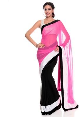 Nyalkaran Self Design Fashion Georgette Sari