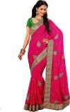 Saree Exotica Embroidered Fashion Chiffo...