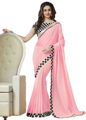 Mantra Mohini Embriodered Bollywood Pure Georgette Sari