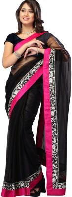 Sumit Self Design Bollywood Net Sari