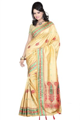 Shatabdi Self Design Manipuri Silk Sari