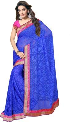Ethnic For You Plain Fashion Art Silk Sari