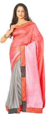 Estri Self Design Fashion Tissue Sari