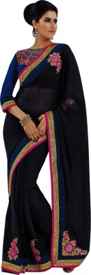 Saloni Embriodered Bollywood Georgette Sari