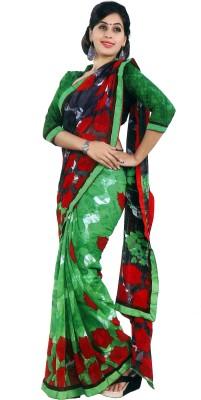 Pratihast Printed Fashion Georgette Sari