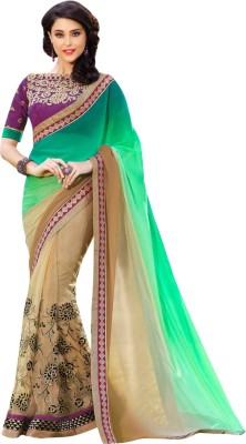 Brijraj Embriodered Fashion Net Sari