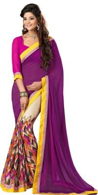 Sarika Fashion Printed Fashion Georgette Sari