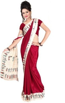Chirmangal Printed Fashion Crepe Sari