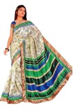 Jm Shah Printed Daily Wear Chiffon, Cott...