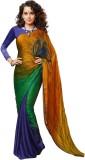 3NH Printed Bollywood Art Silk Saree (Bl...