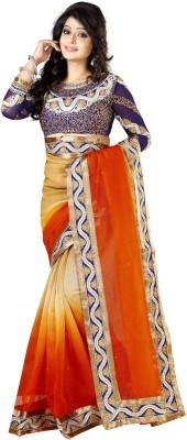 Kashish Lifestyle Self Design Fashion Handloom Cotton Sari