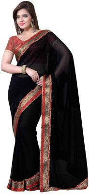 Hypnotex Printed Fashion Chiffon Sari