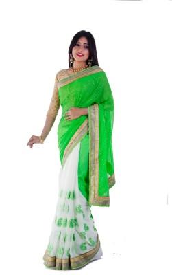 Aryya Embriodered Fashion Chiffon Sari