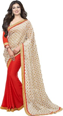 Vency Creation Printed Bollywood Georgette Sari