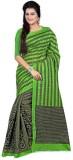 Active Striped Bhagalpuri Tussar Silk Sa...