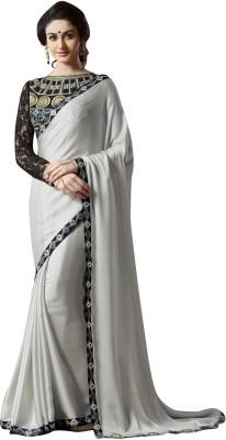 Rajesh Silk Mills Embriodered Fashion Georgette Sari
