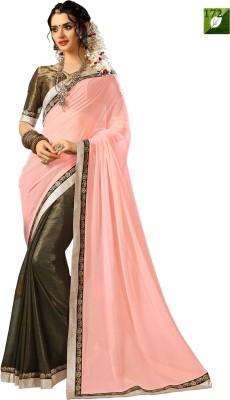 Rozdeal Printed Fashion Chiffon Sari