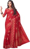 Sonal Saree Self Design Bollywood Art Si...