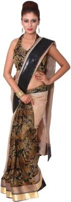 Raagbydeepa Embellished Fashion Handloom Georgette Sari