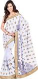 MySarees Embroidered Fashion Chiffon Sar...