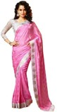Glamour Tex Plain Bollywood Georgette Sa...