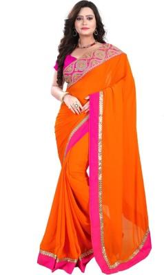 elvira Embriodered Fashion Chiffon Sari