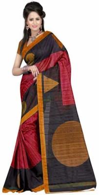Ashton Printed Bhagalpuri Art Silk Sari