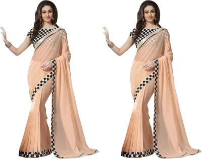 Bluebirdimpex Printed Bollywood Georgette Sari