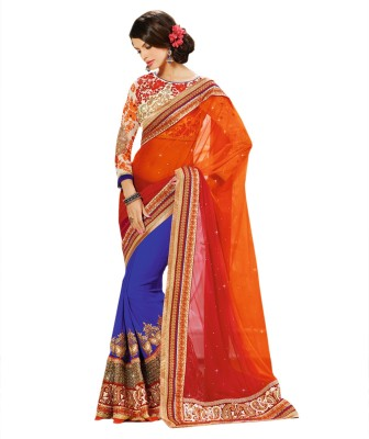 Sayonafashion Self Design Fashion Georgette Sari
