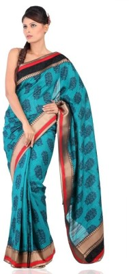 Chhabra 555 Printed Daily Wear Art Silk Sari