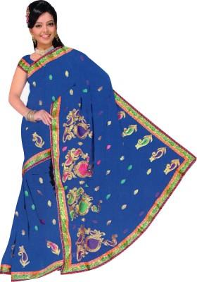 Kanhaiya Fashions Embriodered Fashion Cotton Sari