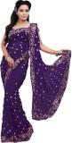 Saree Swarg Self Design Bollywood George...