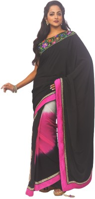Zorbain Style Self Design Fashion Viscose Sari