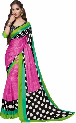 Sunaina Printed Fashion Crepe Sari