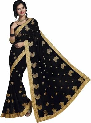 Sonal Saree Embriodered Bollywood Chiffon Sari