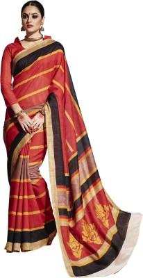 Maniya Printed Bollywood Cotton Sari