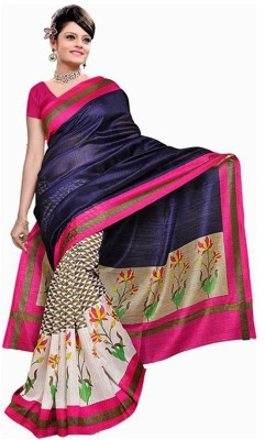 MatindraEnterprise Self Design Bollywood Handloom Art Silk Sari