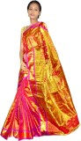 Mahaveersilkcreations Woven Kanjivaram H...