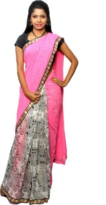 Avantika Printed Fashion Handloom Georgette Sari