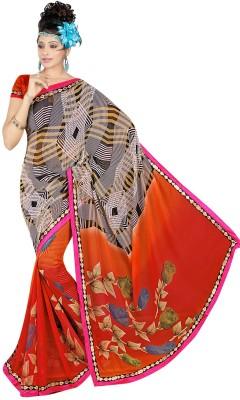 Janya Self Design Murshidabad Georgette Sari