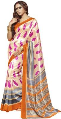 Parishi Fashion Printed Bhagalpuri Silk Sari