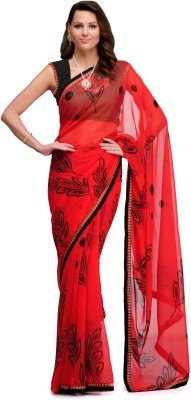 Shop Well Soon Printed Fashion Chiffon Sari